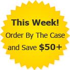 This Week! Order By The Case and Save $50+